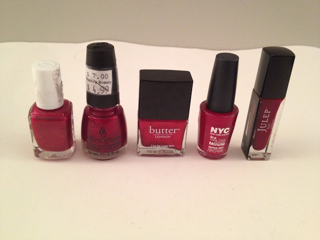 Top 5 Holiday Red Nail Polishes