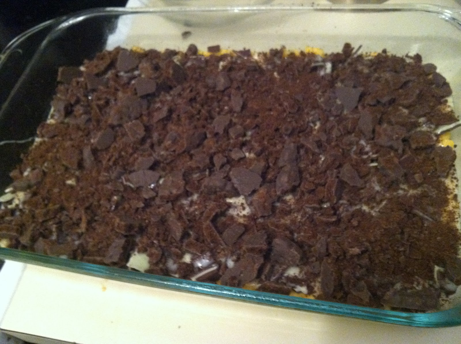 Boston Sweetie: Thin Mint Gooey Cake Bars