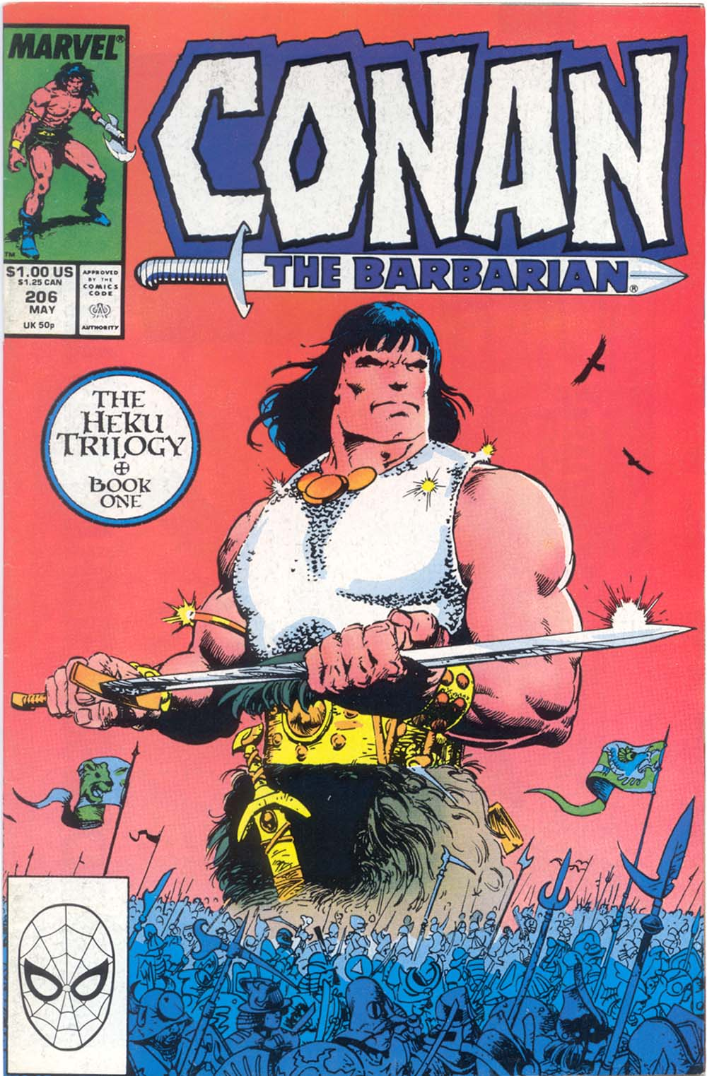 Conan the Barbarian (1970) Issue #206 #218 - English 1