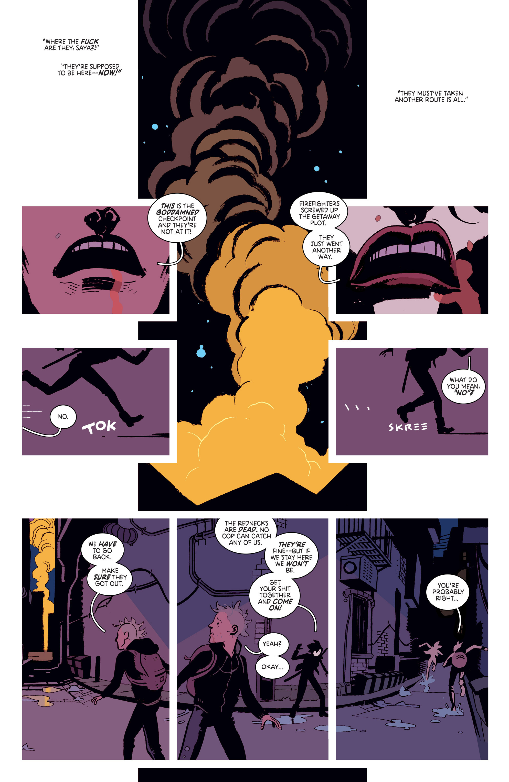 Read online Deadly Class comic -  Issue # _TPB 3 - 6