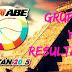 Resultados de la ABE División II