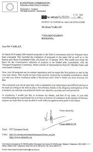 Aprecieri  ale  Comisiei  Europene