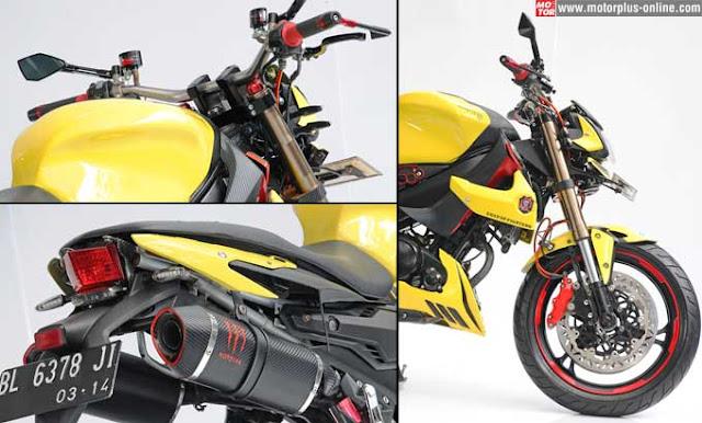 Modifikasi Yamaha V ixion 2009