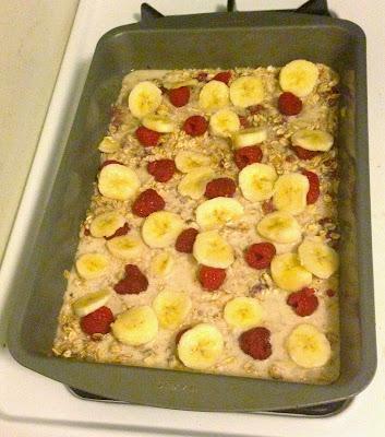 ... Bougie: Breakfast for the Week: Clean Eating Berry Banana Oatmeal Bake