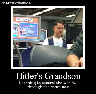 Hitler Grandson Funny 2012 Computer