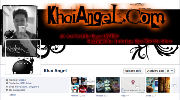 Facebook Background+Profile Pics Yang Awesome