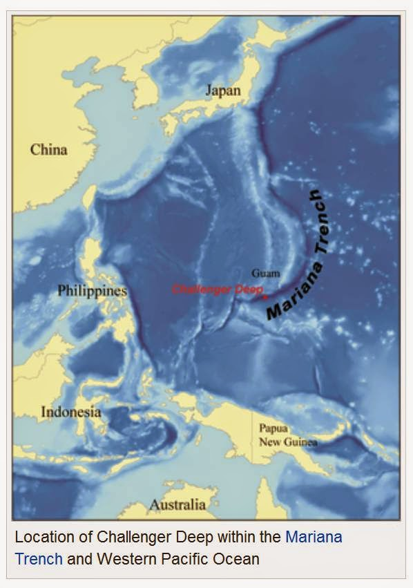 5, palung laut terdalam DI, dunia belajar IPS