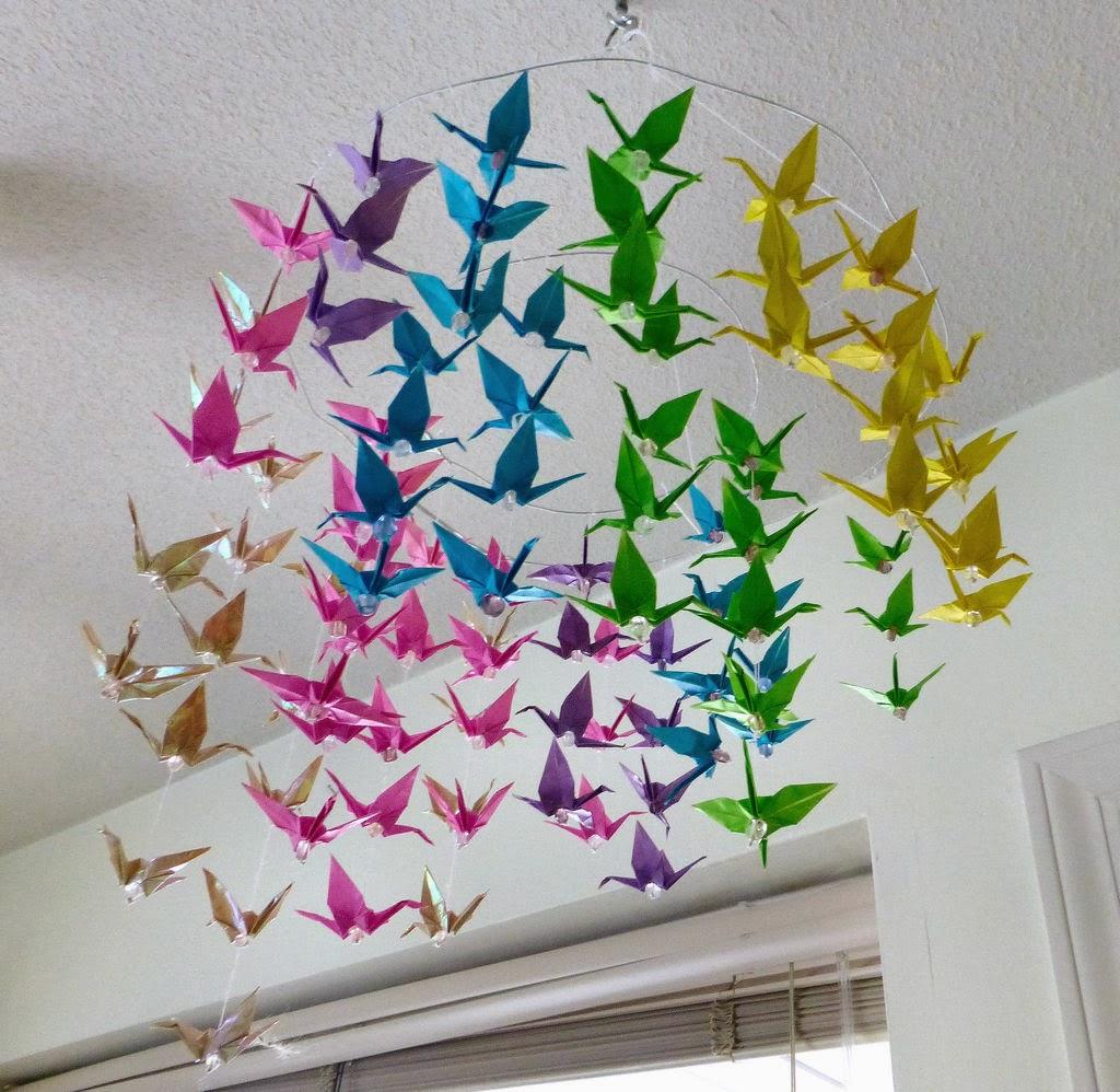 Uraw lataj cy motyw przewodni lubu i wesela finezja for Origami decorations for your room