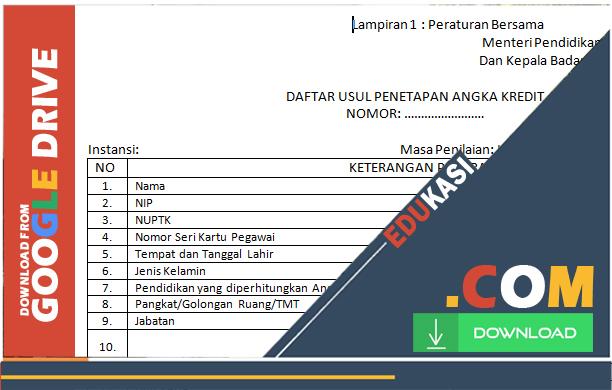 DOWNLOAD FILE FORMAT USUL DUPAK DAN BUKTI FISIK PKG [51 file]