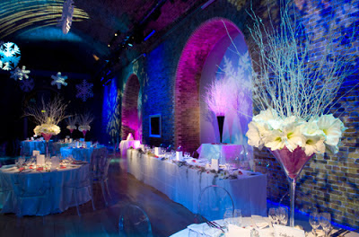 Winter Themed Wedding Decorations