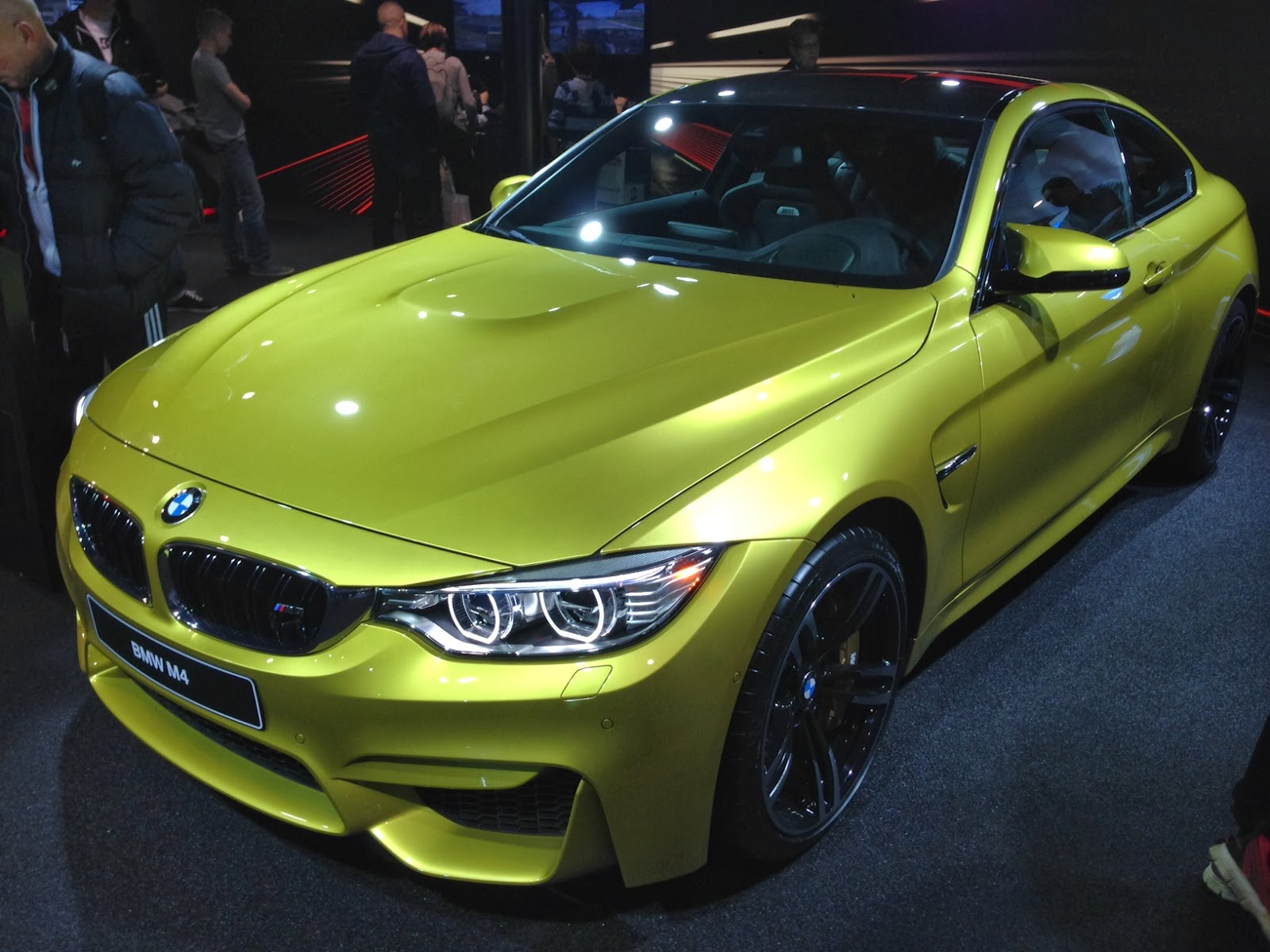 BMW M4 at Geneva