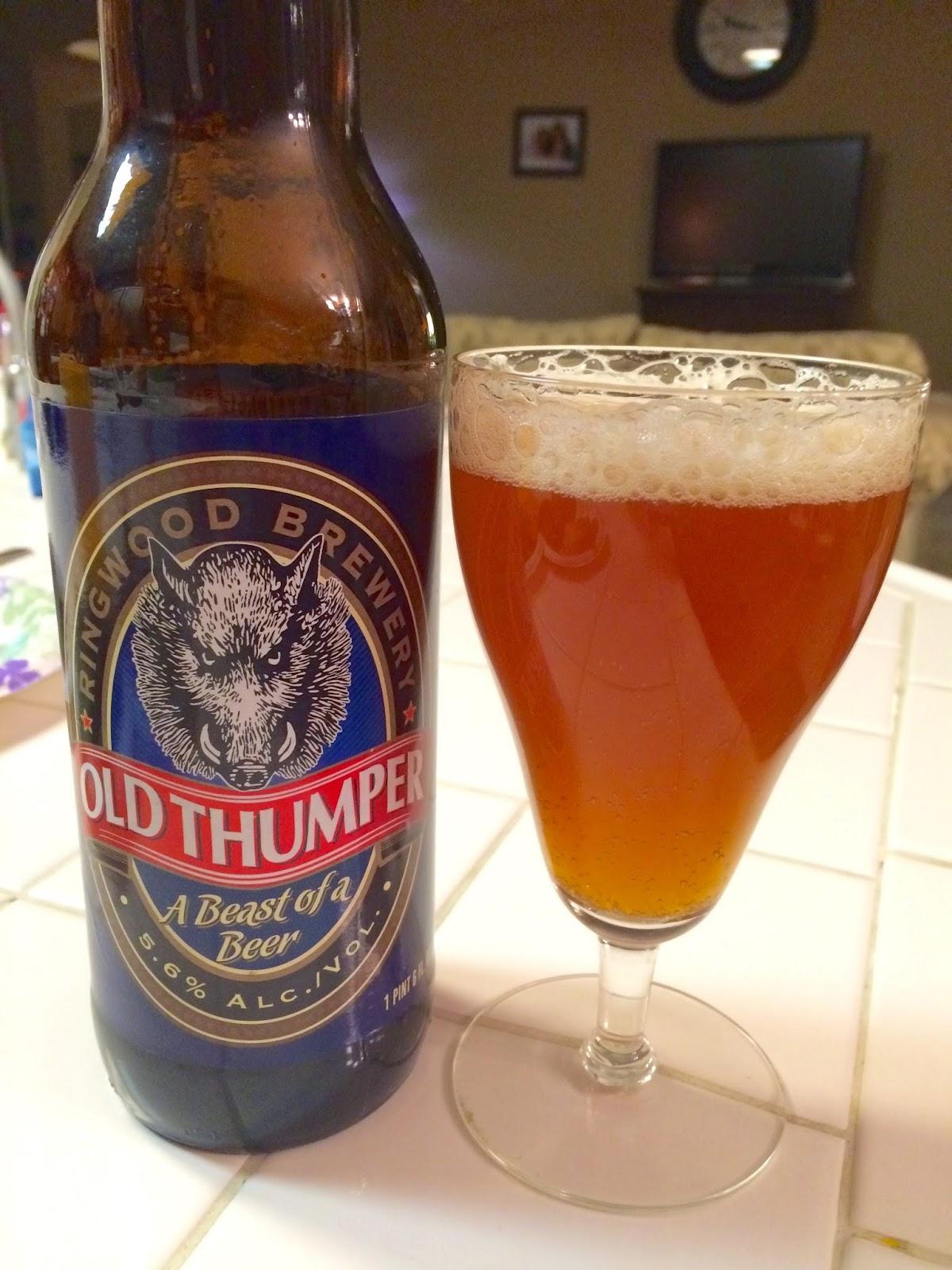 Shipyard Old Thumper Ale 1