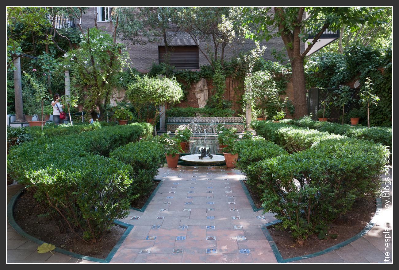 Museo sorolla uno de esos rincones con encanto en madrid tienes planes hoy - Rincones de jardines con encanto ...