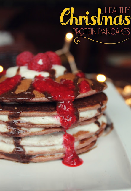 Healthy Christmas Recipes – Delicious Protein Pancakes with Sugar-Free Ingredients