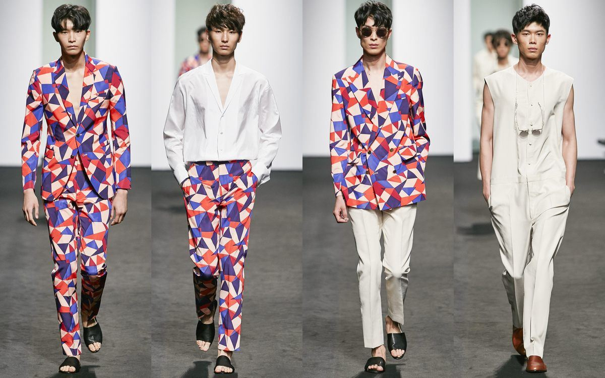 Seoul Fashion Week Spring  Kim Seo Ryong