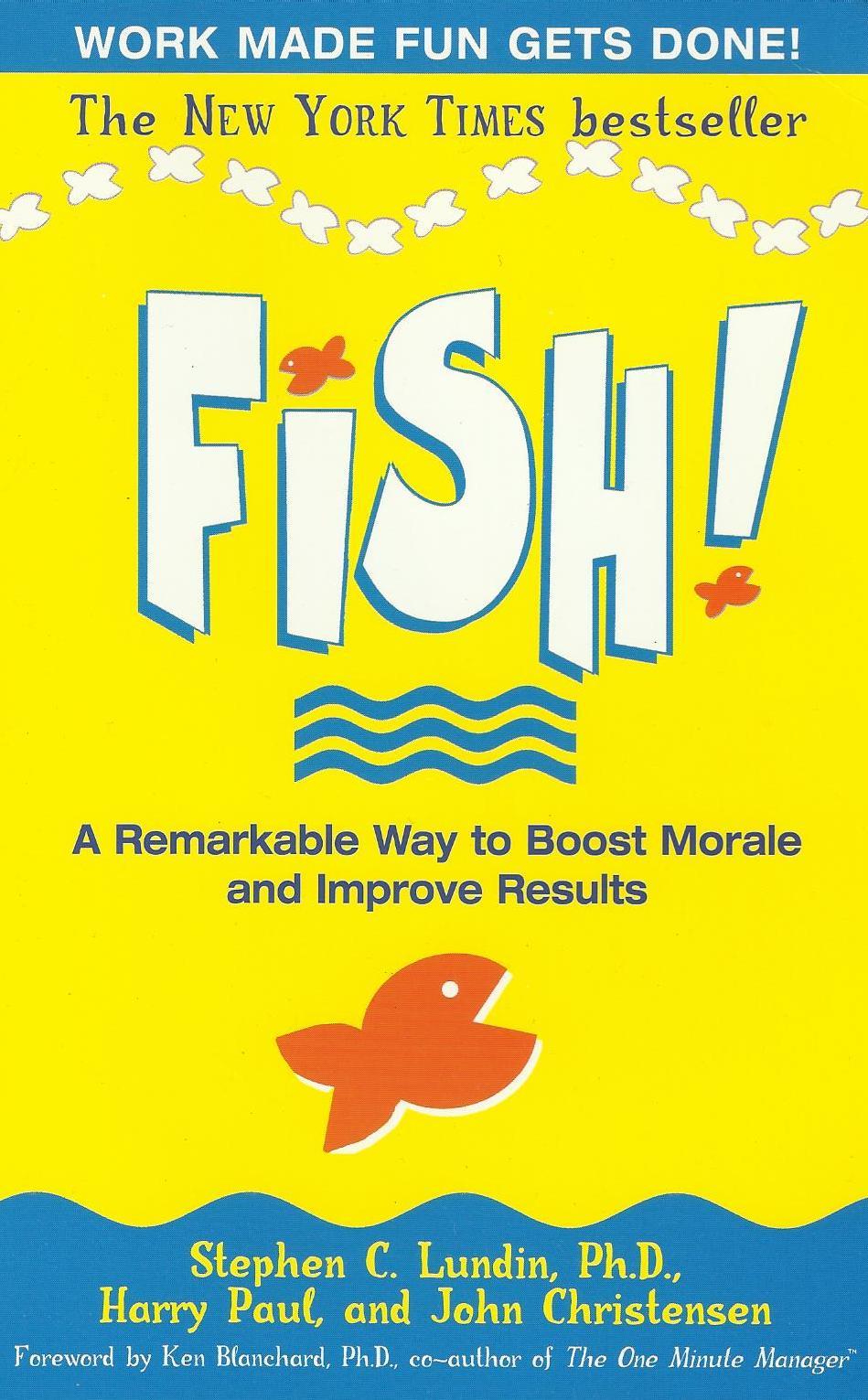 Book reviews vijay k shrotryia fish a remarkable way for Fish the book