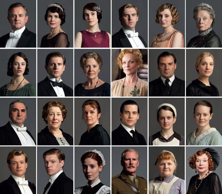 Downton Abbey Season 3 Cast