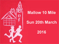 Mallow 10 mile...Sun 20th Mar 2016...Limit of 1750