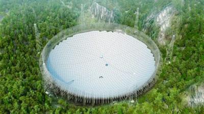 Hipernovas: China Quer Encontrar Extraterrestres Com Seu Novo Radiotelescópio de 500 Metros [Artigo]