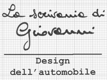 PROGETTI DI CAR DESIGN