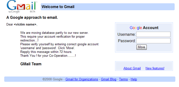 how to create a fake gmail account
