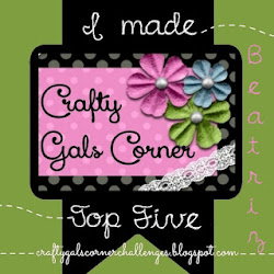 Top5 Crafty Gals Corner Challenge nº65