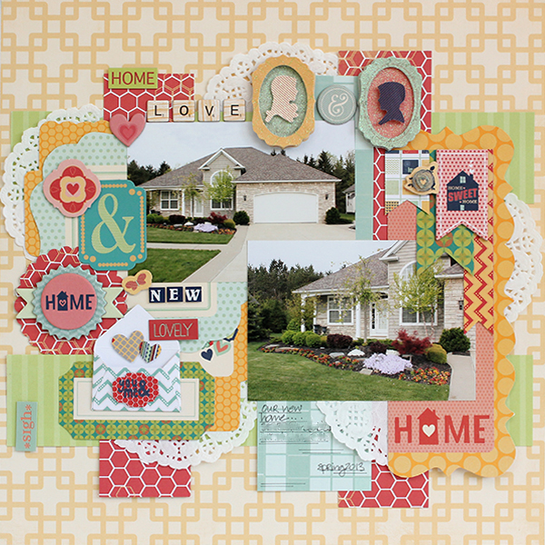 New Home Layout by Juliana Michaels