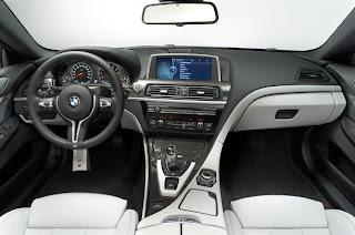 NEW BMW M6 INTERIOR VIEW