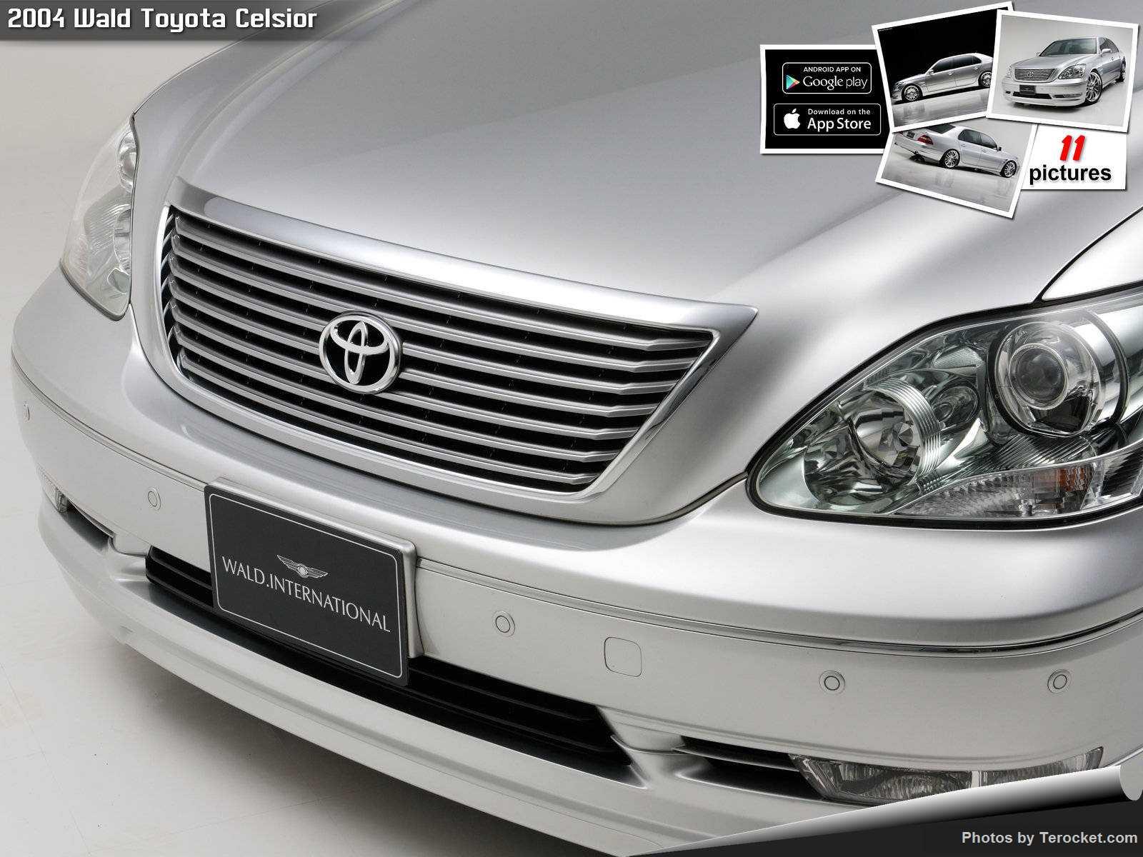 Hình ảnh xe độ Wald Toyota Celsior 2004 & nội ngoại thất