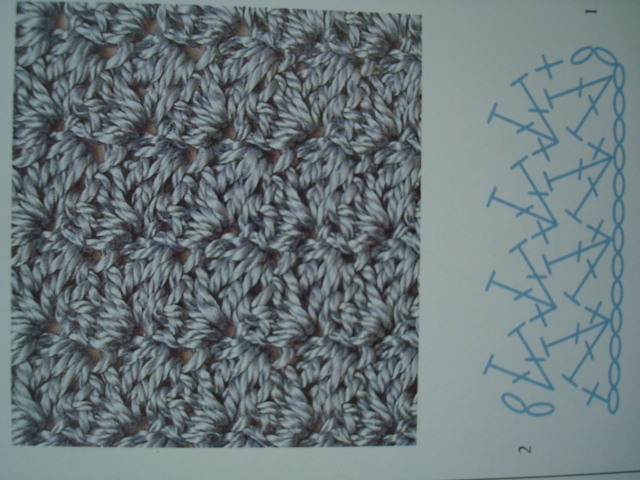 AFGHAN STITCH DISHCLOTH Crochet Pattern - Free Crochet Pattern