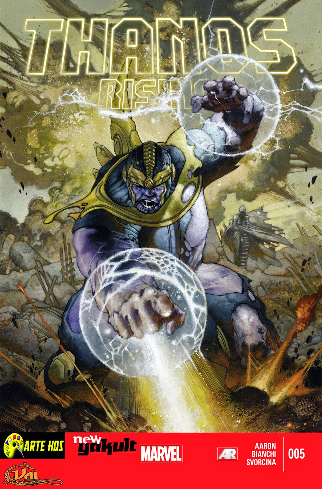 Nova Marvel! Thanos Rising #5
