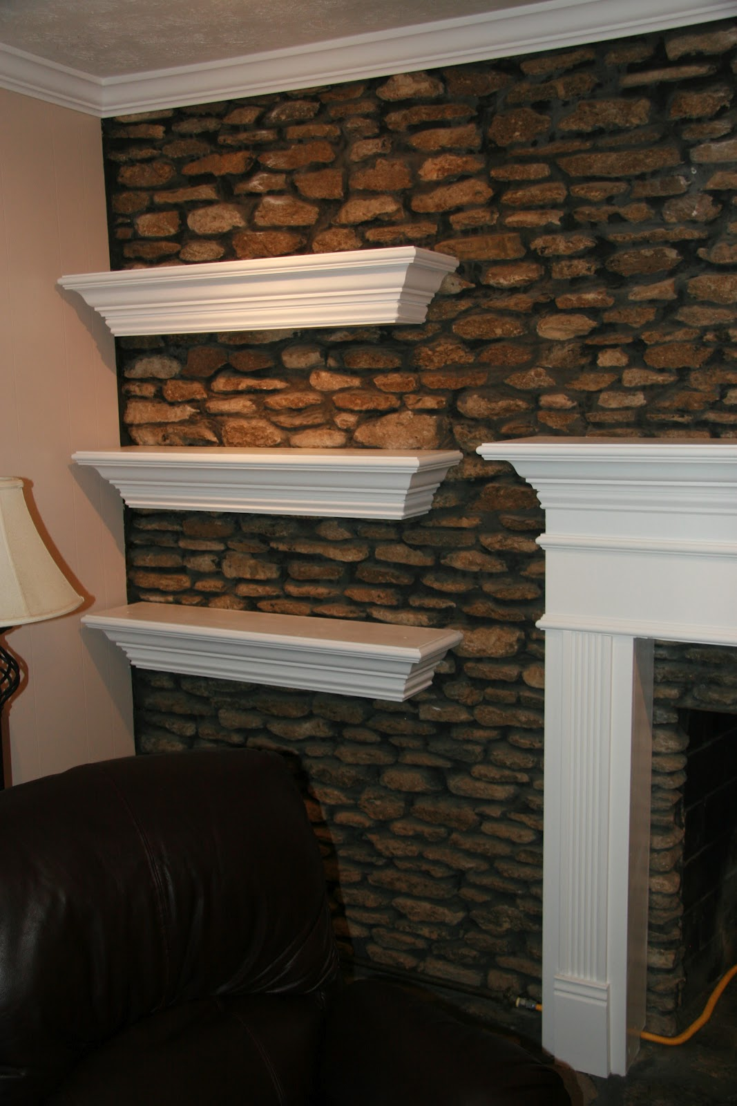 Charlie Hydes Remodeling Specialist And Handyman Fireplace Mantel Floating Shelves