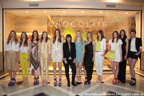 Chocolate primavera verano 2013. Moda primavera verano Argentina 2013.