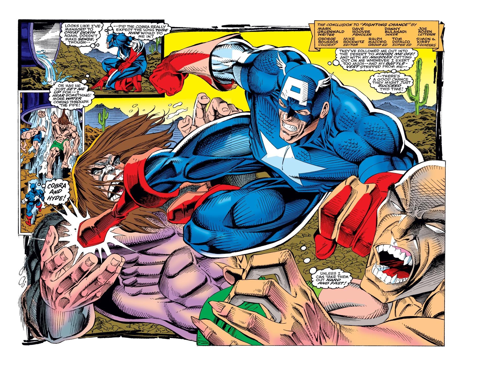 Captain America (1968) Issue #436 #386 - English 3