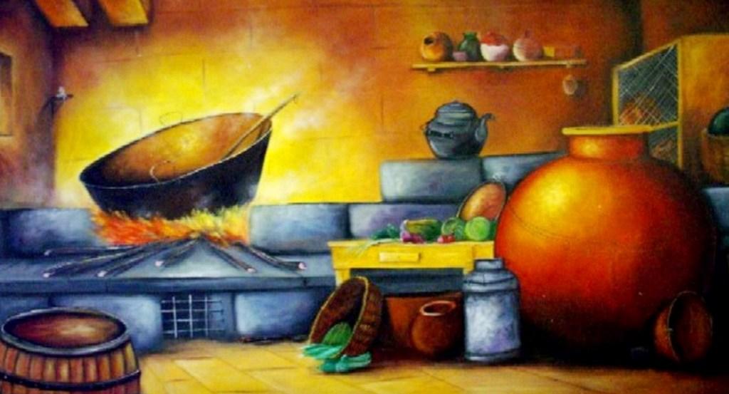 Cuadros modernos pinturas y dibujos bodegones - Cuadros modernos para cocina ...