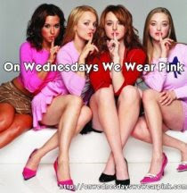 On Wednesdays I Wear Pink!