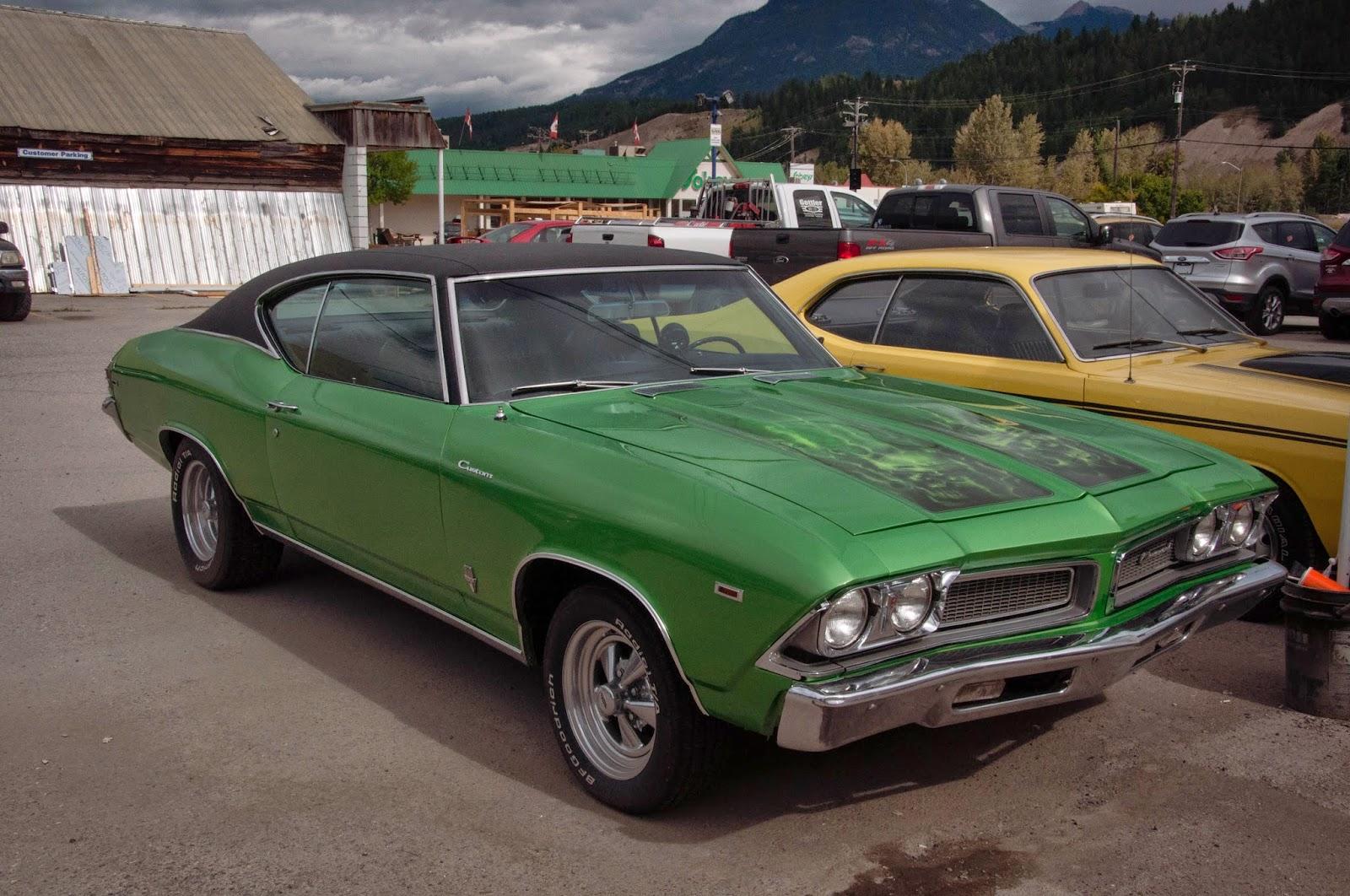 retro american car,