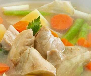 simple chinken soup