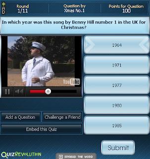 christmas gadget 2011 music quiz