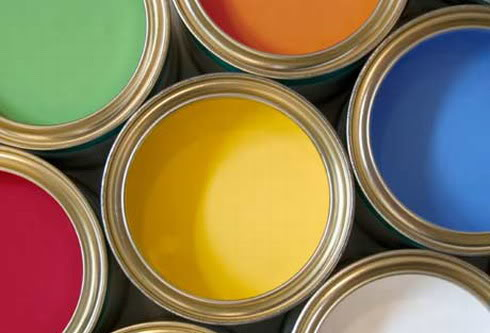contoh perpaduan warna cat tembok dan kusen kombinasi cat