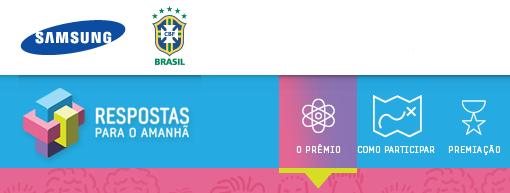 """Prêmio Samsung - """"Resposta para o Amanhã"""""""
