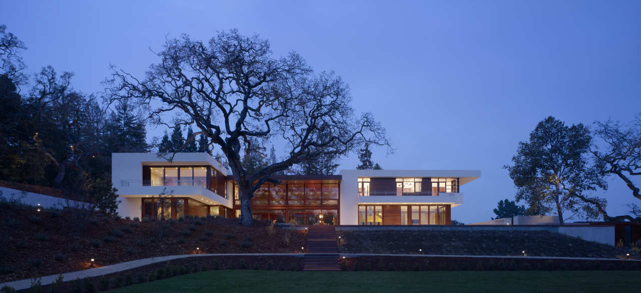 World of architecture how homes in silicon valley look like for Modern mansions in california