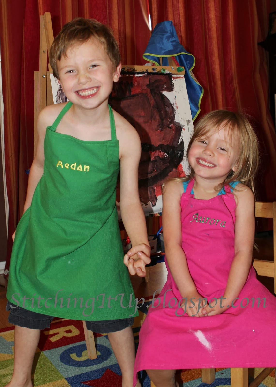 Child apron tutorial