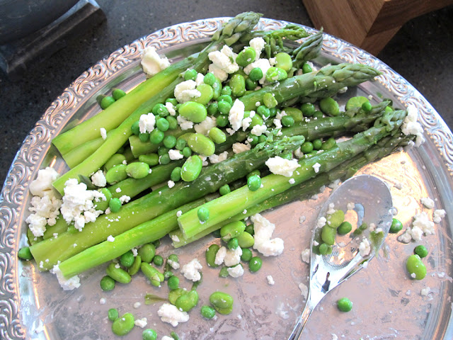 Asparagus salad at Darwin brasserie - Sky Garden, London brunch