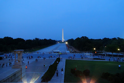 Washington Monument and U.S. Capitol
