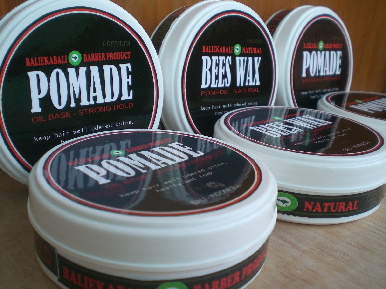 POMADE BARBER MEN HAIR PRODUCT IN BALI