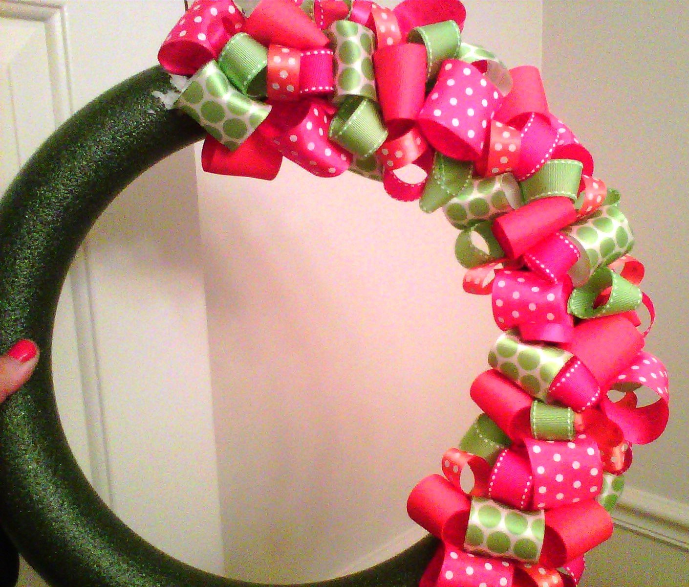 Simply Southern Sweet Classy And Sassy Summer Ribbon Wreath