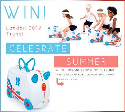 Win, London 2012 Trunki, Kids One Stop Shop