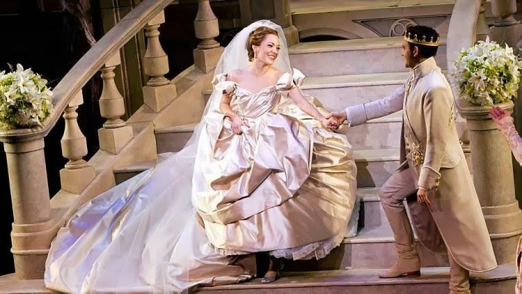 Cinderella Wedding Dress Scene : Ribbons down my back cinderella on broadway
