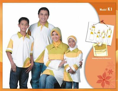 KIRGYZ SARIMBIT Koleksi Busana Muslim Keluarga